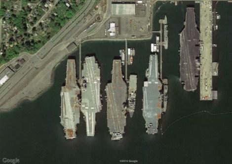 Uss Nimitz Size Comparison USS Ranger – ...