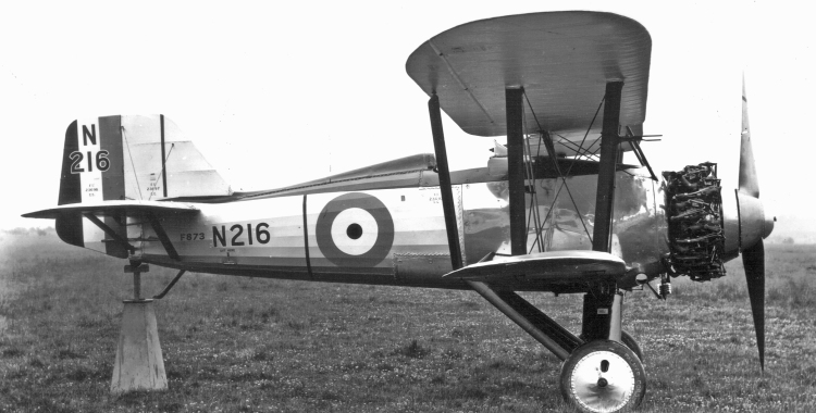 Fairey Flycatcher II fighter