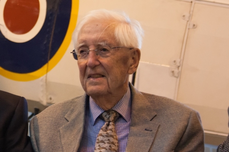 Swordfish veteran Archie Hemsley